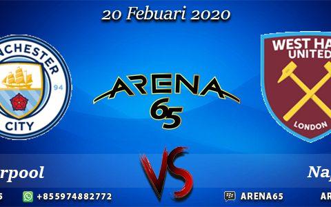 Prediksi Manchester City Vs West Ham United 20 Febuari 2020