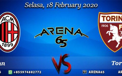 Prediksi Milan Vs Torino 18 February 2020