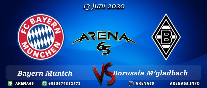 Prediksi Bayern Munich Vs Borussia M'gladbach 13 Juni 2020